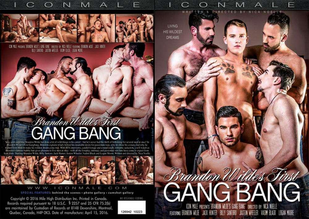 Brandon Wilde's First Gangbang