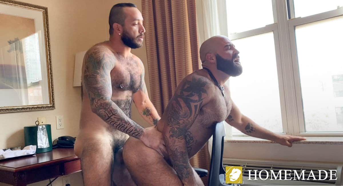 Fill My Hairy Hole Daddy – Atlas Grant & Julian Torres