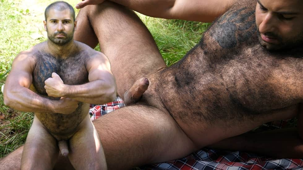 Andrei, Naked Russian Bear in the Woods