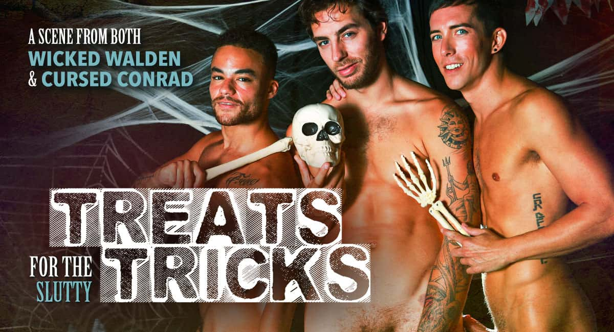 Treats For The Slutty Tricks – Carter Woods, Beaux Banks & Isaac Parker