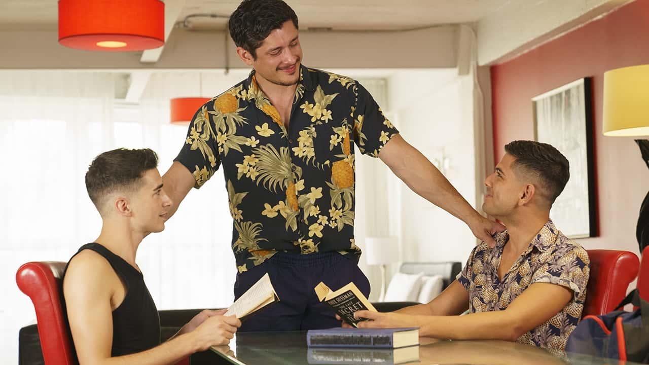 Stepdad Crush – Rocky Vallarta, Alex Montenegro, Jake Nobello & Romeo Davis