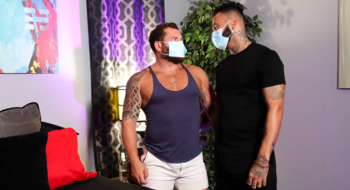Unmasked And Ready To Fuck – Rikk York & Riley Mitchel