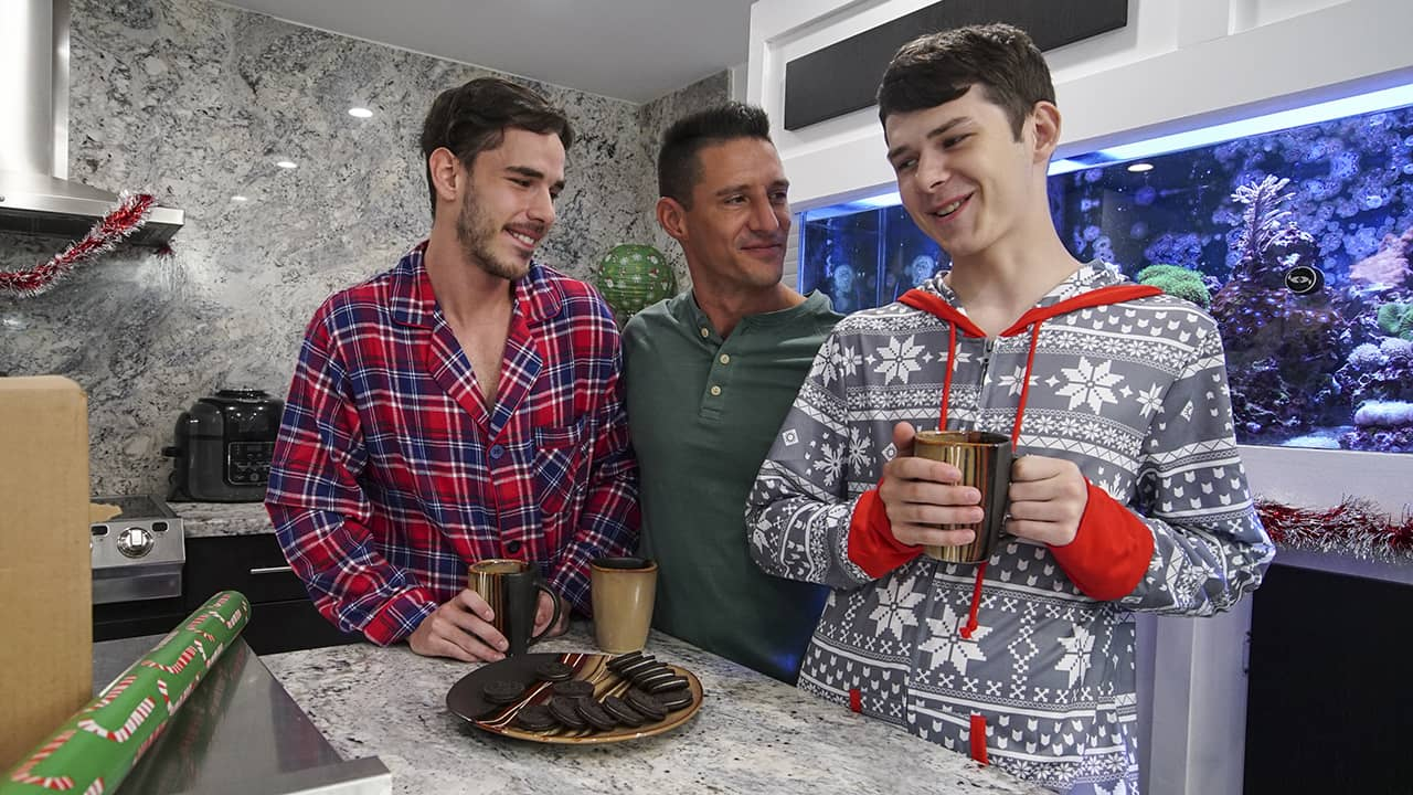 Unwrapping Our Christmas Present – Jax Thirio, Dakota Lovell & Gabriel