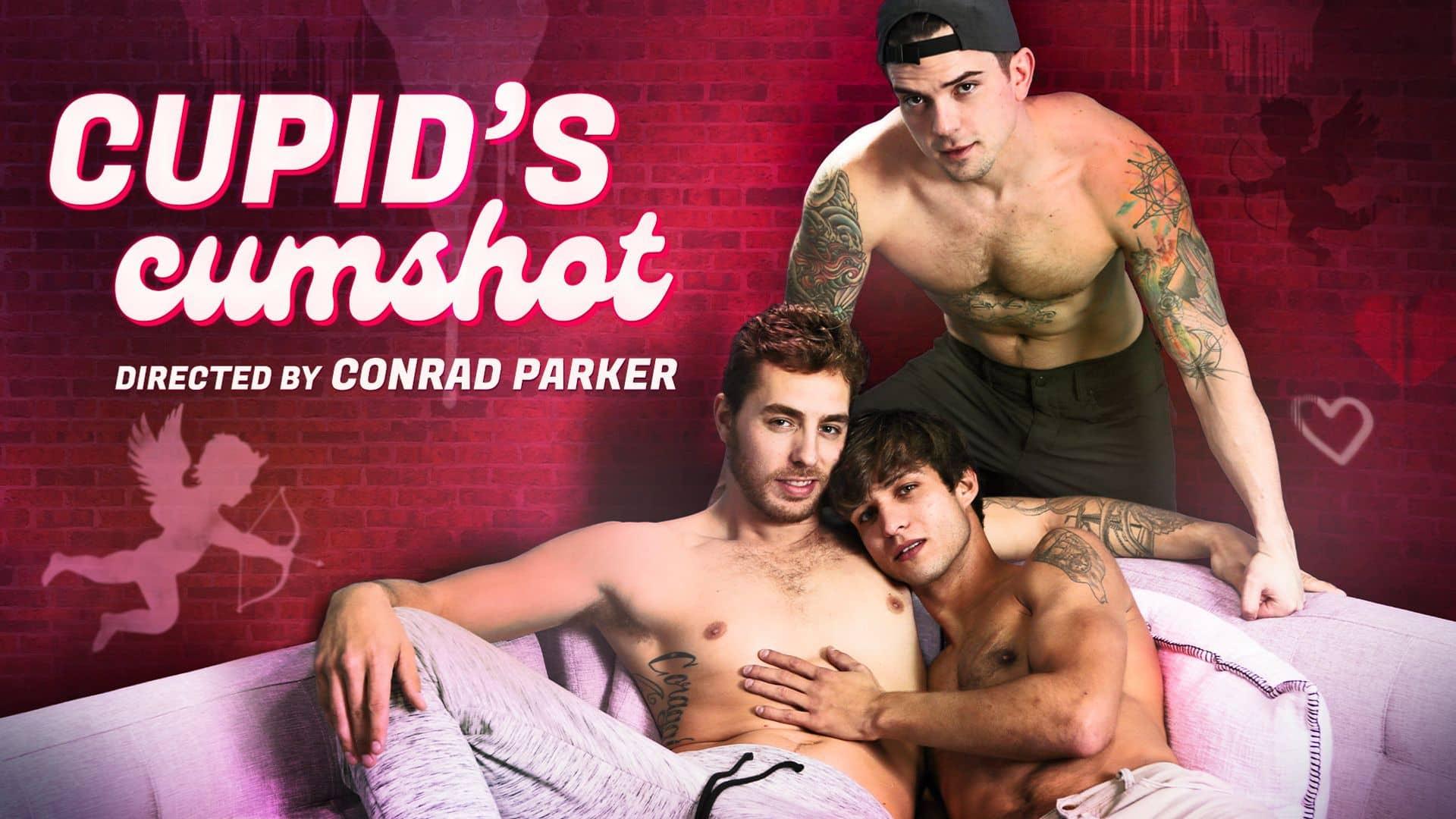 Cupid's Cumshot – Carter Woods, Elliot Finn and Dakota Payne