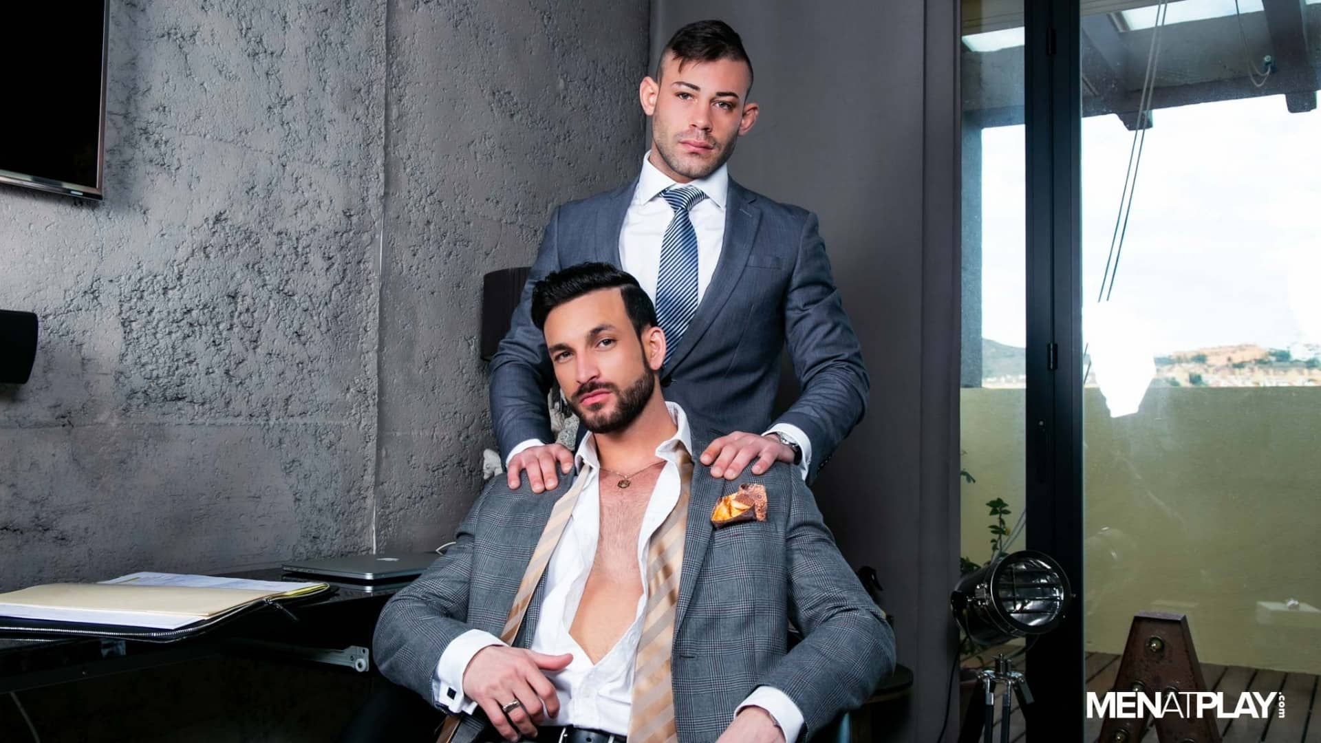 Never Back Down – Javi Gray and Ricky Blue
