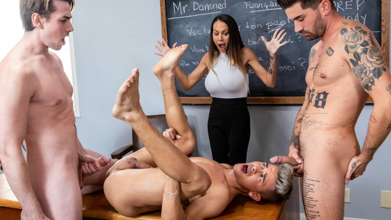 Menage A Trois – Jack Hunter, Andy Taylor and Chris Damned
