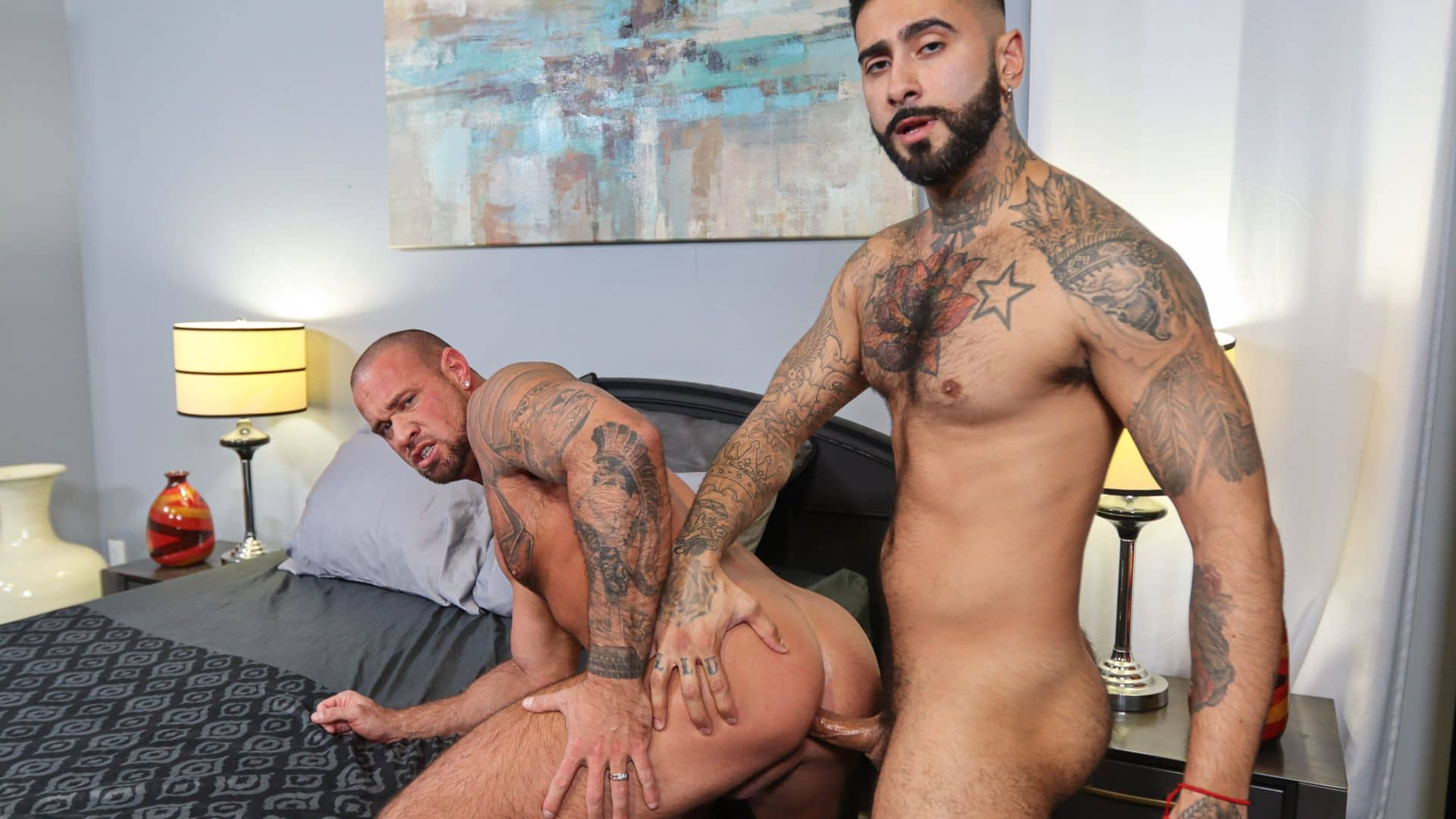 Much Needed Tension Release – Rikk York and Michael Roman