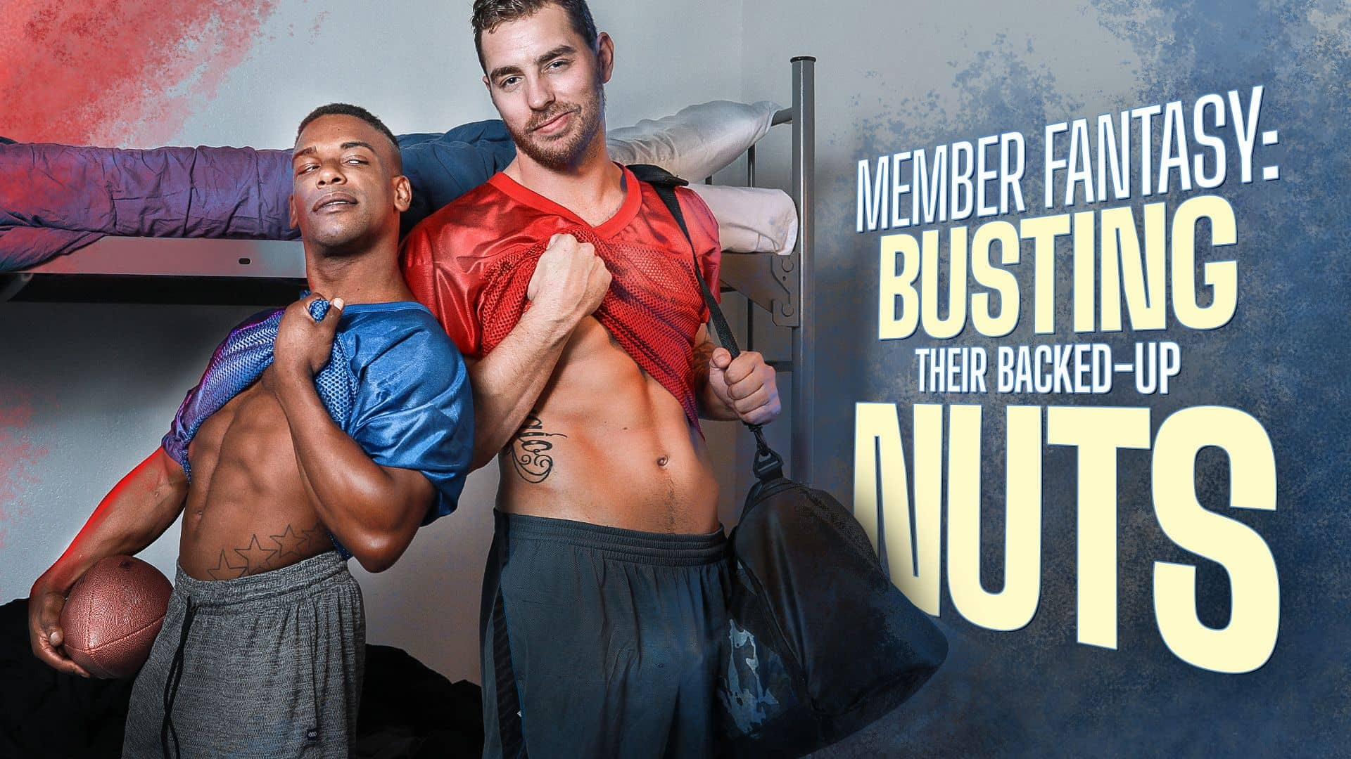 Member Fantasy, Busting Their Backed-up Nuts – Carter Woods and Adrian Hart