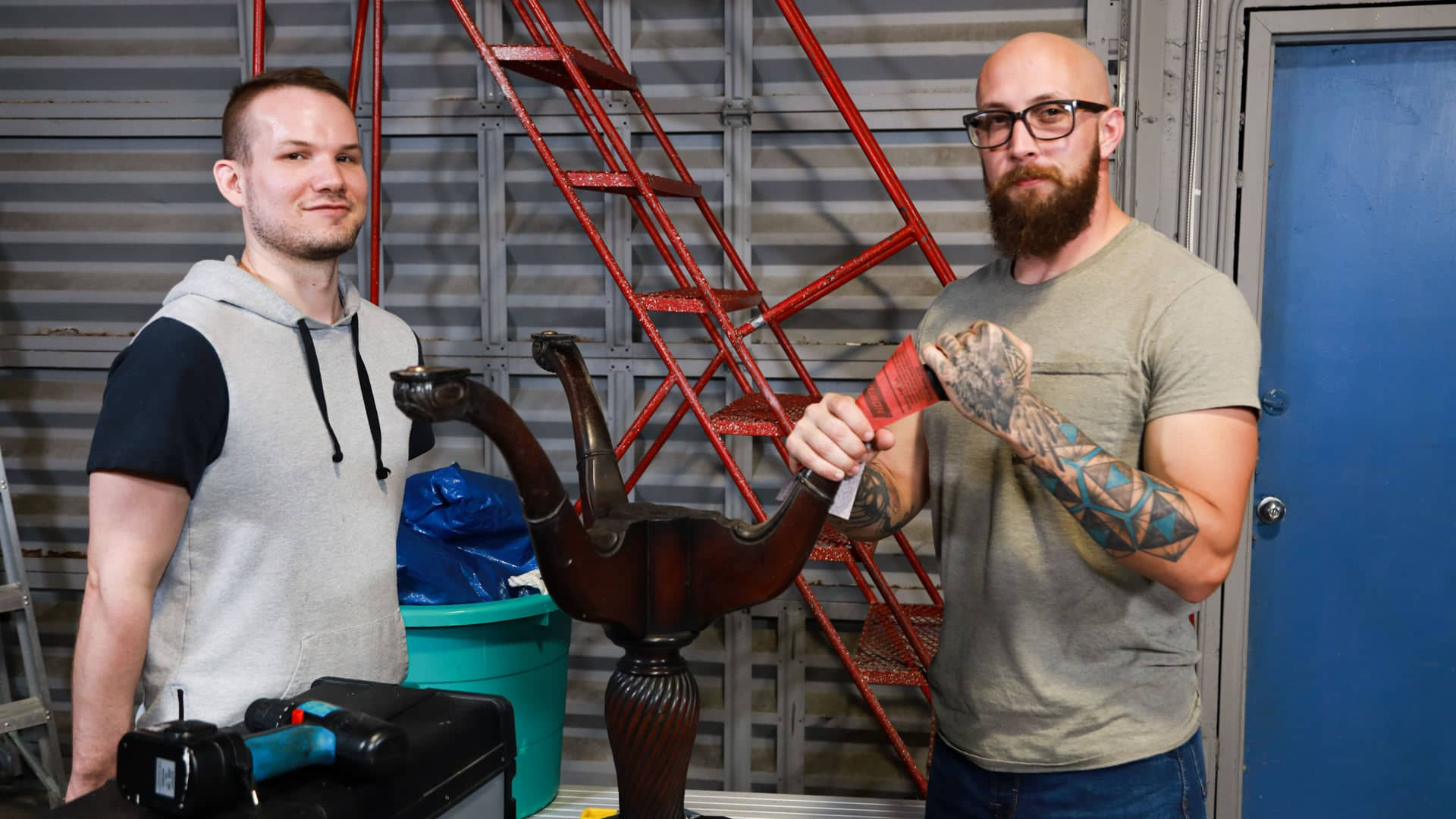 My Uncle's Wood Shop – Dustin Steele and Devin Tyler