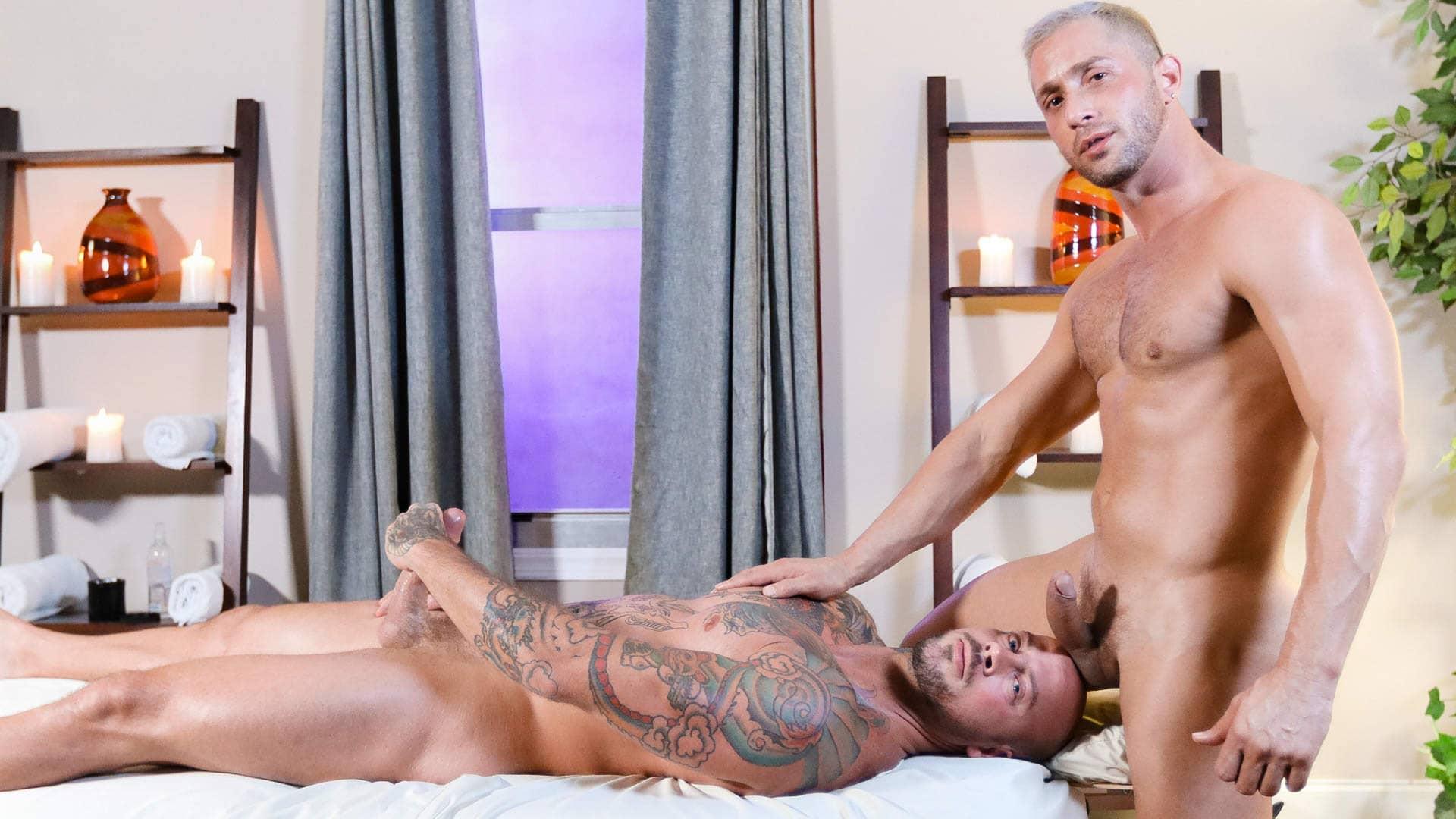 Deep and Hard Massage – Sean Duran and Armando De Armas