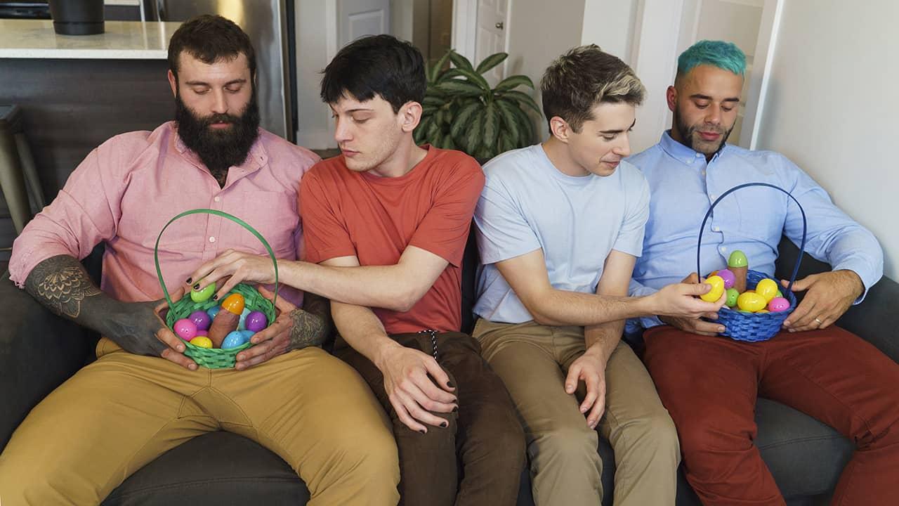 Easter Egg Swap – Teddy Torres, Markus Kage, Edward Terrant and Jake Nobello
