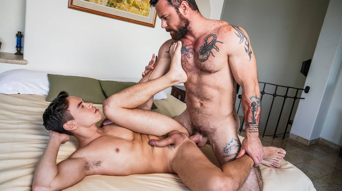 Daddy's Bitch Boys, Scene 1 – Daddy Top Sergeant Miles Breeds Oliver Hunt
