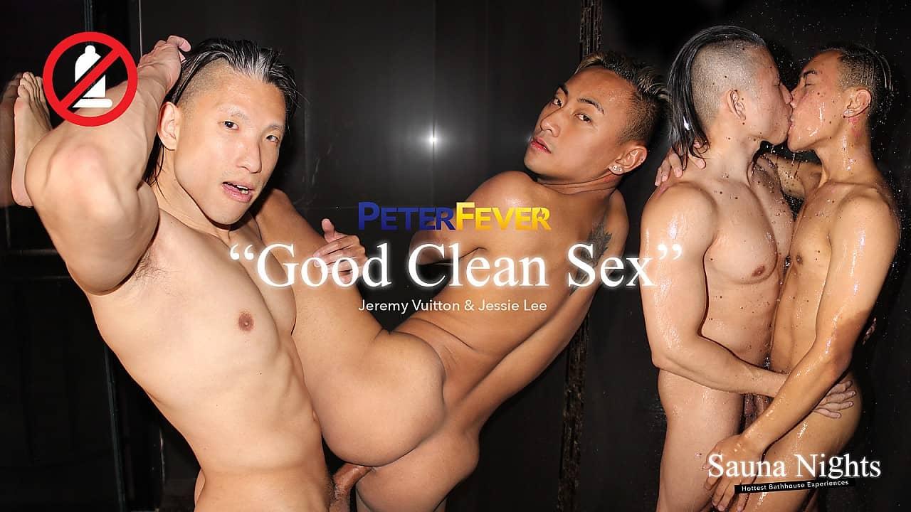 Sauna Nights 2, Good Clean Sex – Jeremy Vuitton and Jessie Lee