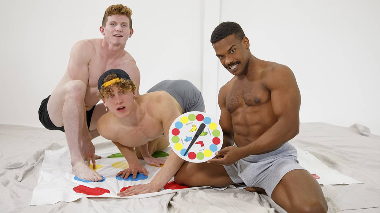 Twister with the Boys – Max Lorde, Felix Fox and Adrian Hart