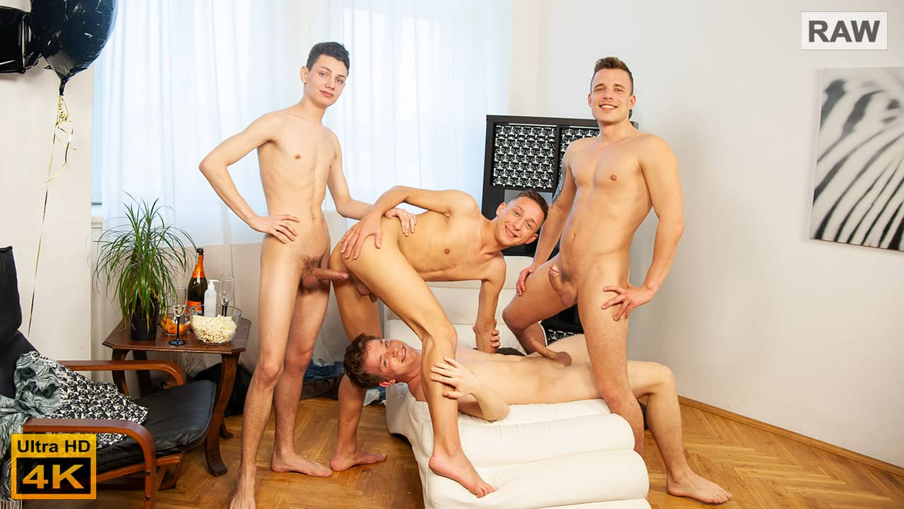 Wank Party 134, Part 2 RAW