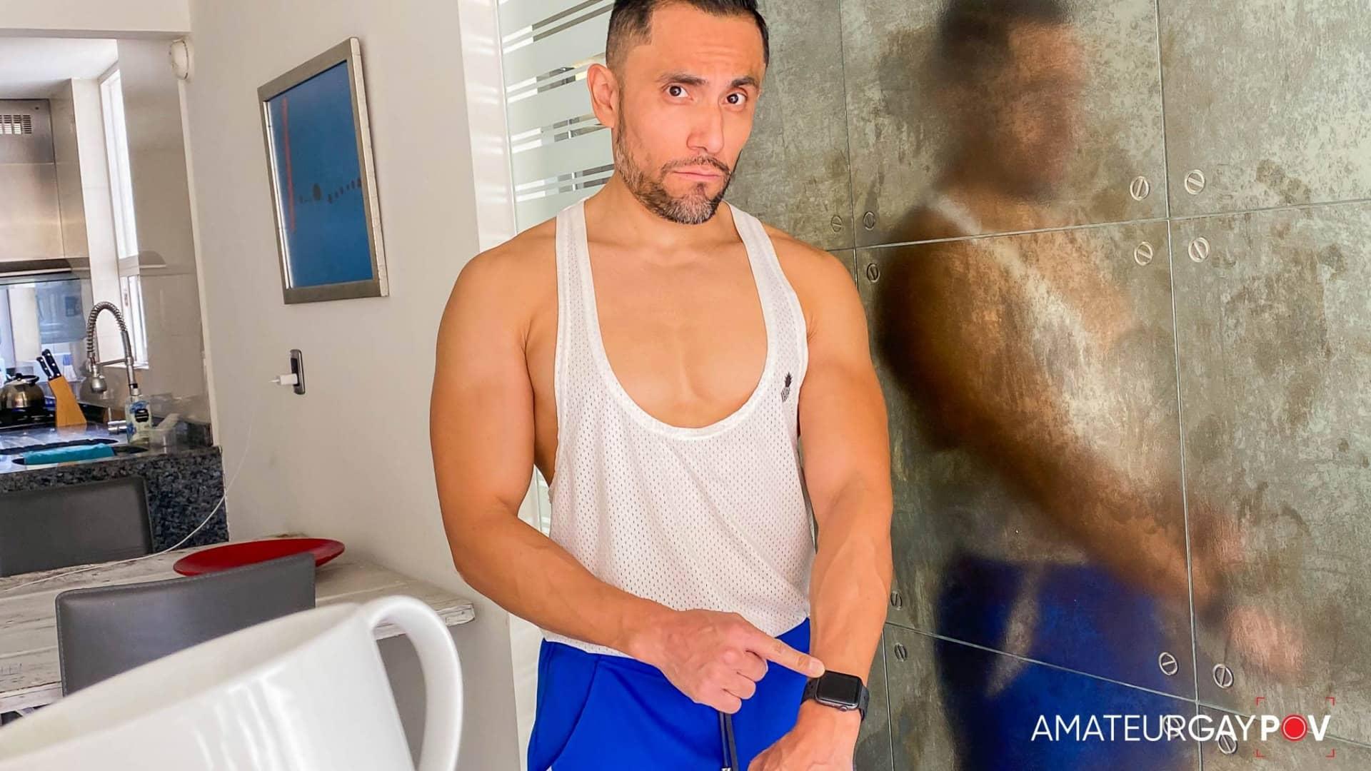 Pissed Trainer, Eddie Aguilar
