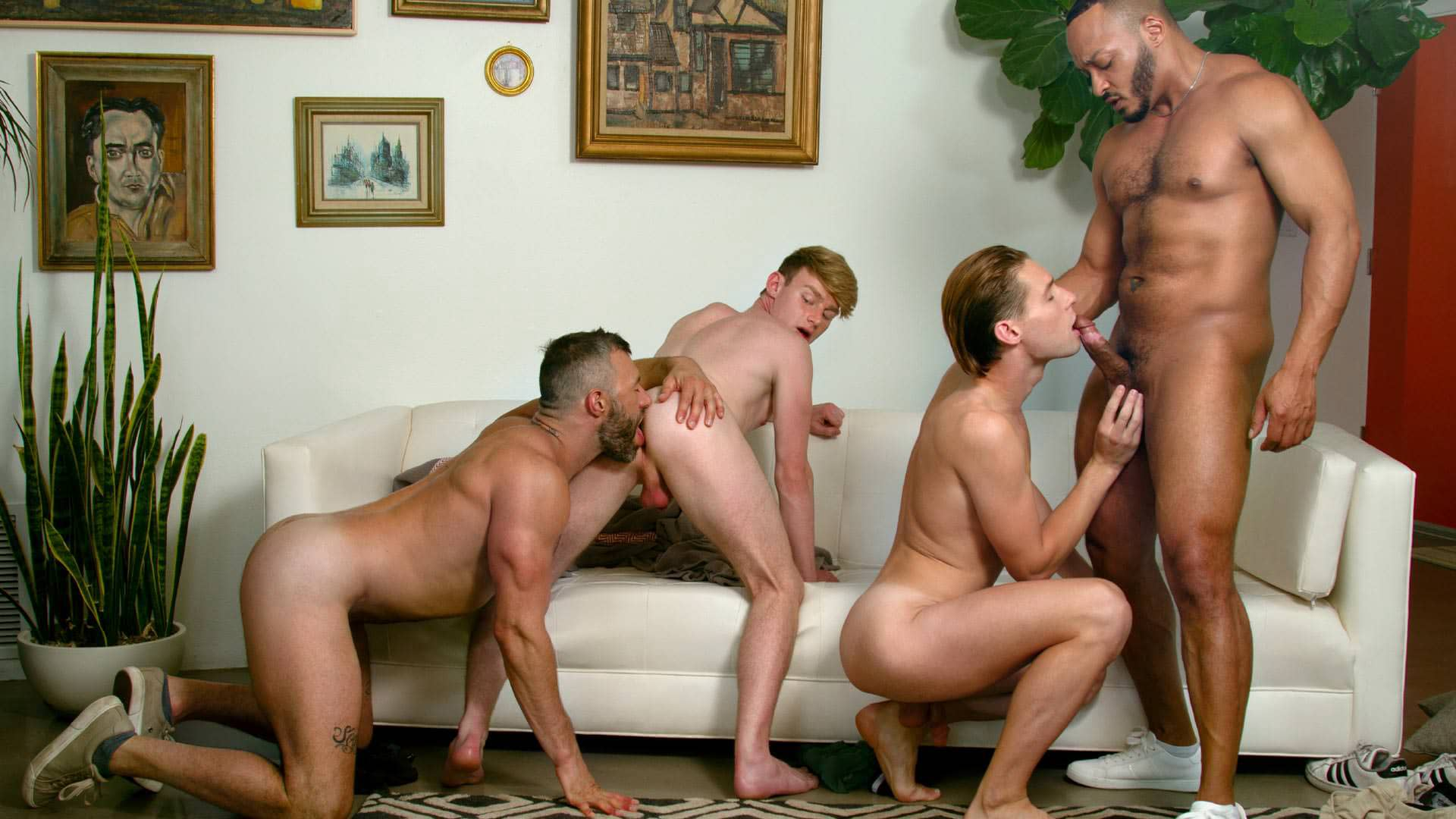 Making The Grade, Scene 5 – Dillon Diaz, Cole Connor, Eric Charming and Shae Reynolds
