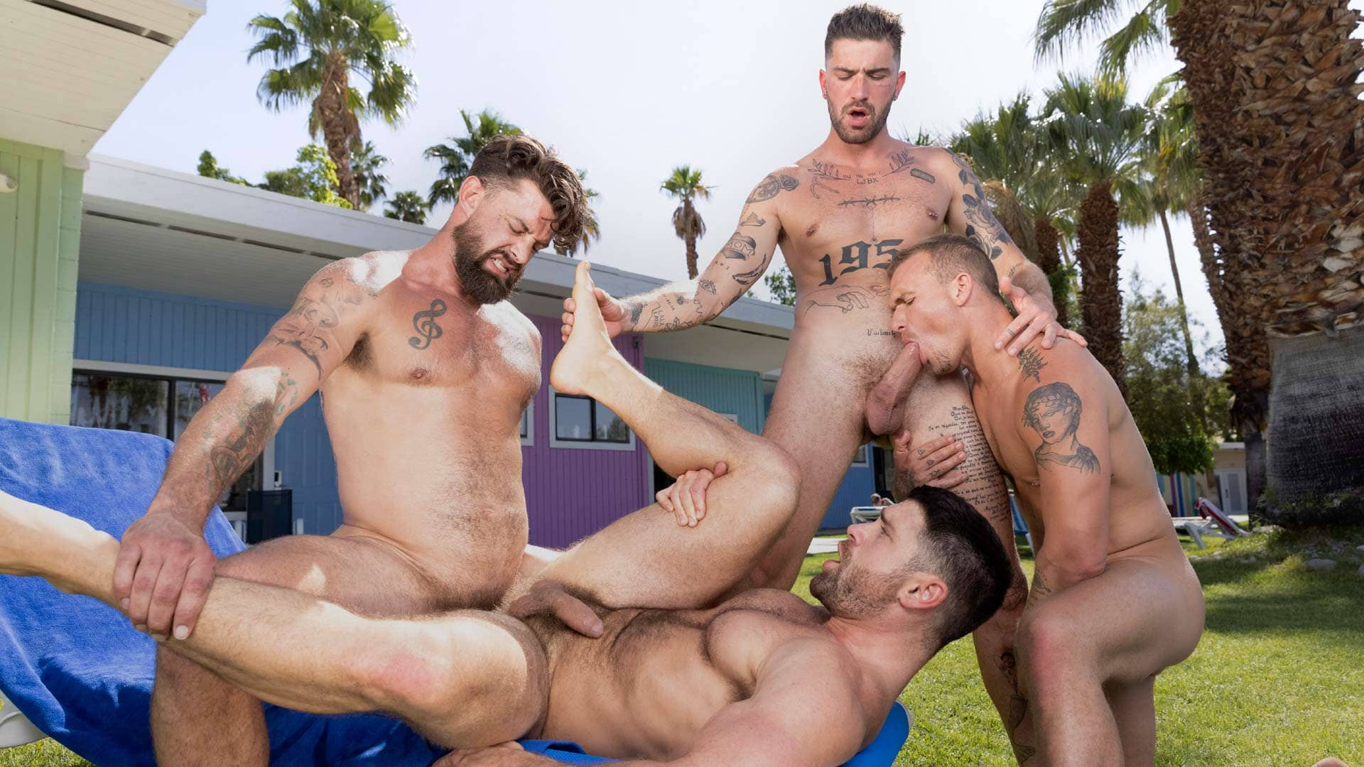 Get A Room Too, Scene 5 – Chris Damned, Isaac X, Beau Butler and Alpha Wolfe