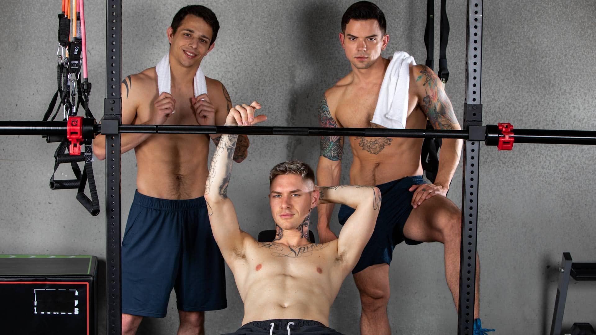 Gym Sluts – Zak Bishop, Dakota Payne and Kyle Wyncrest