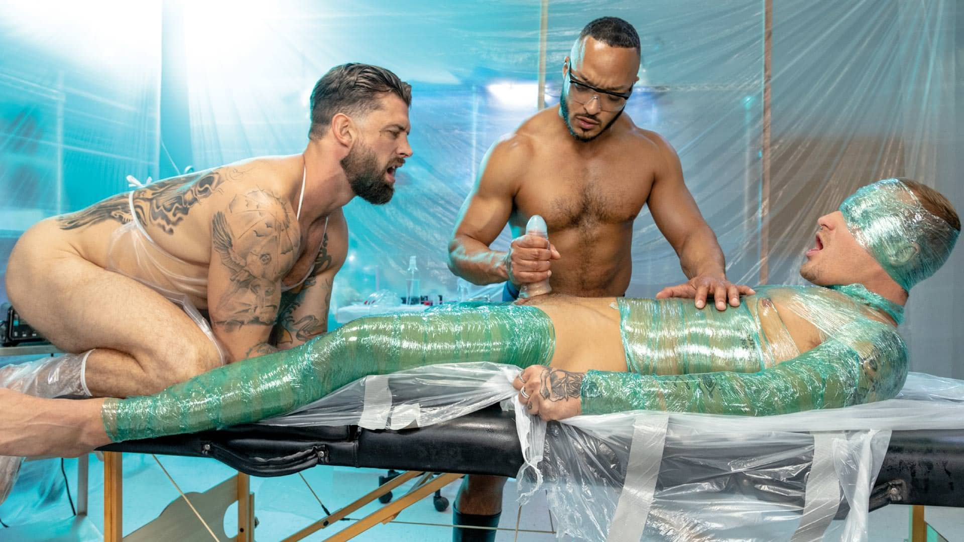 Wrapped, Scene 3 – Dillon Diaz, Alpha Wolfe and Isaac X