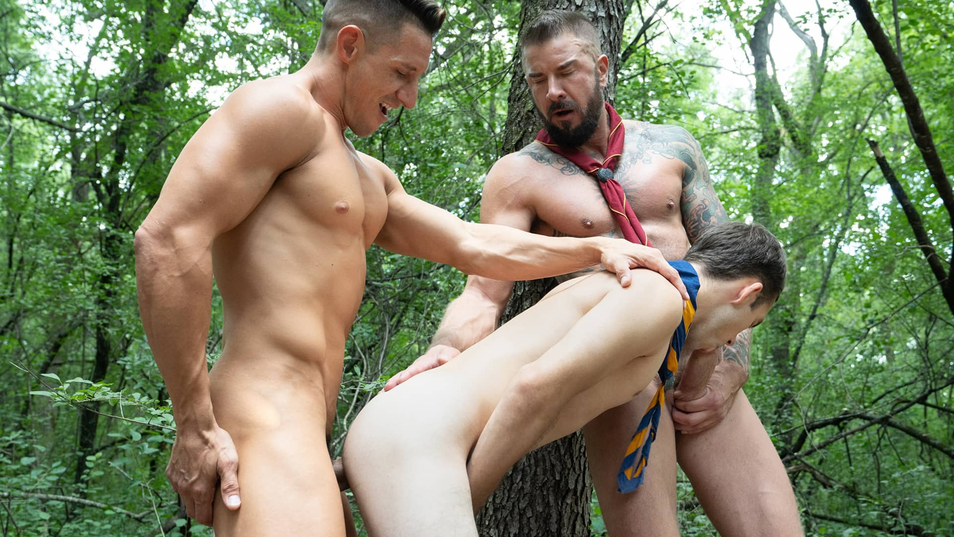 Lessons in Discretion – Scoutmasters Dietrich, Thirio and Scout Rivers