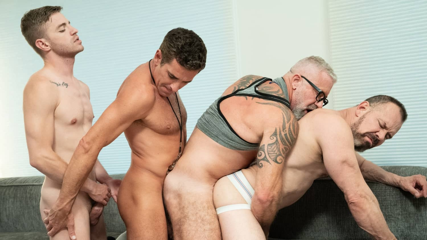 Team Play Chapter 3, Tag Team – Tom Bentley, Lance Charger, Mitch Cox and Max Sargent