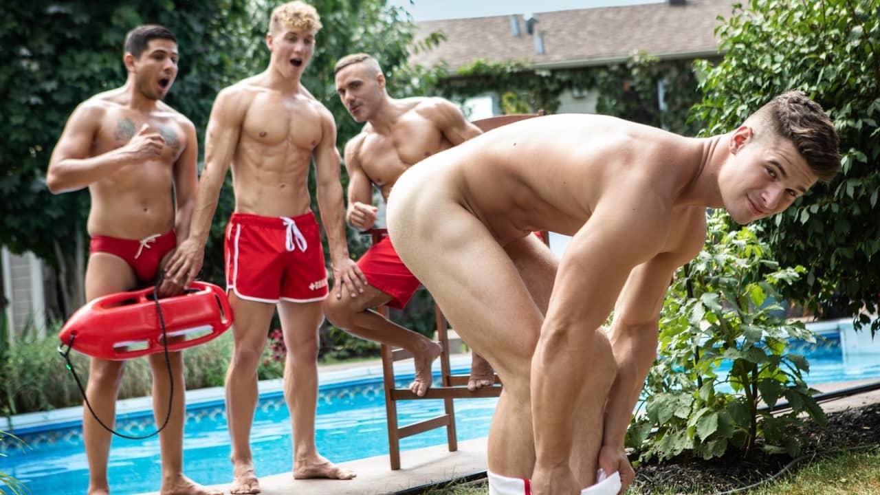 The Rookie Lifeguard – Malik Delgaty and Felix Fox